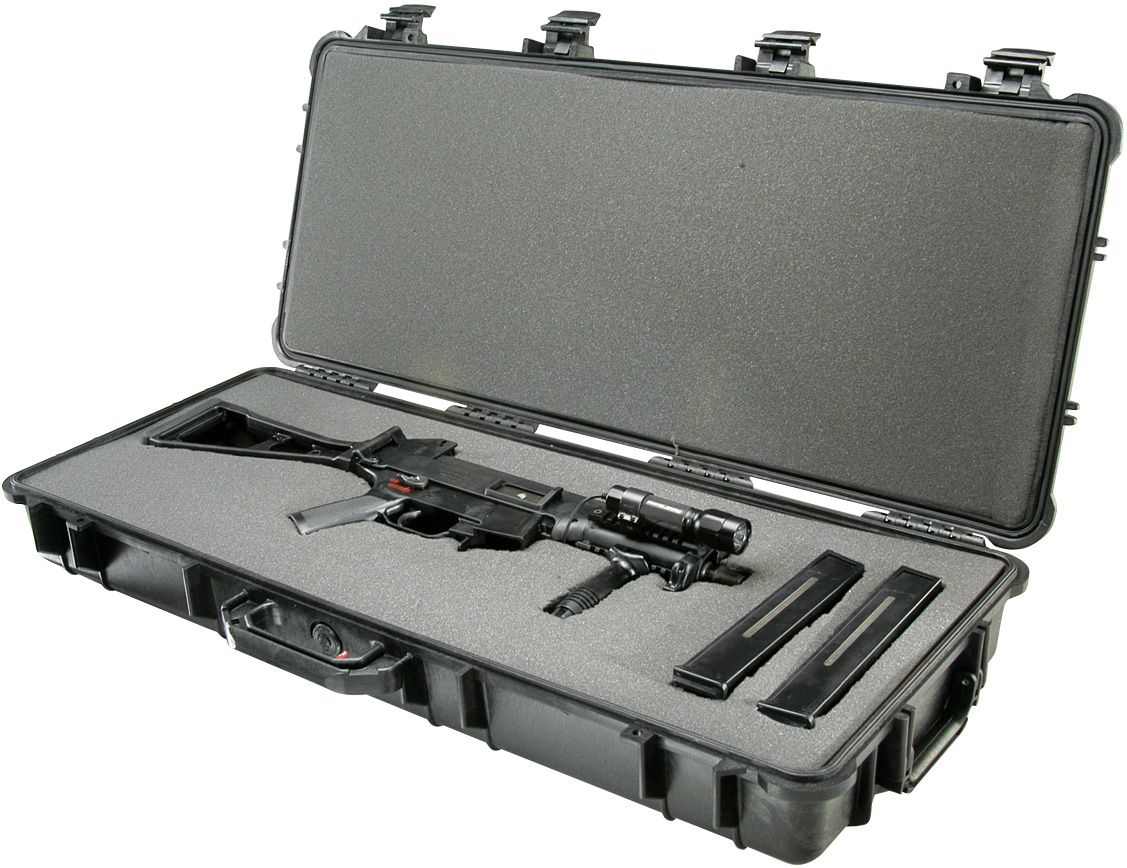 1700-pelican rifle gun hard shell case