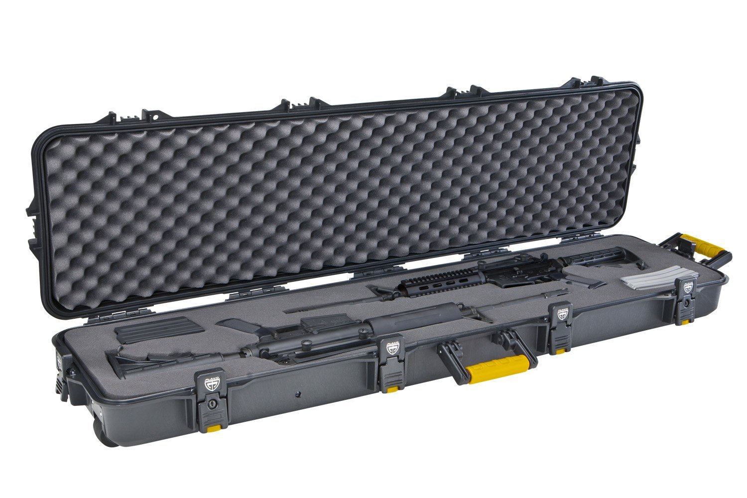 Plano Double Scoped Rifle Case with Wheels
