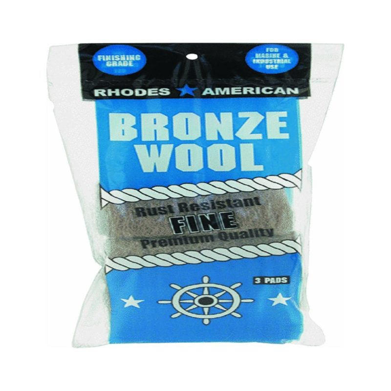 fine bronze wool rust remover