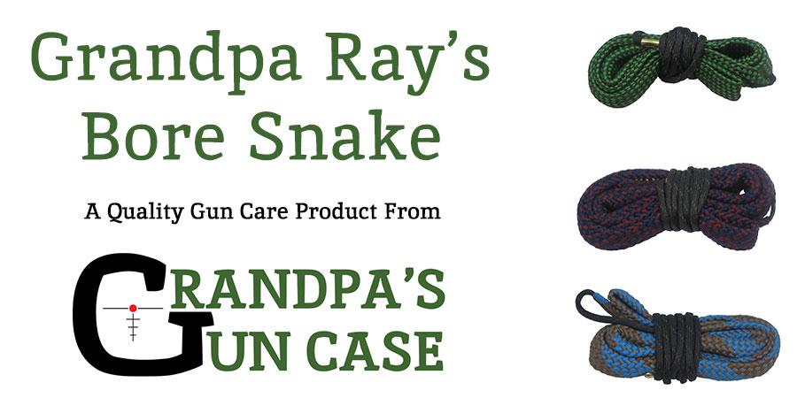 Grandpa Ray's Bore Snakes