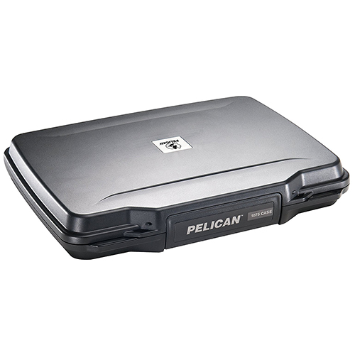 Pelican P1075 Pistol Hard Case Closed