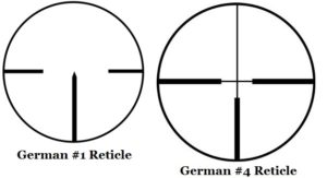 german reticles