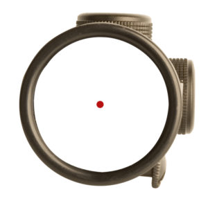 red dot reticle scope