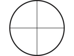crosshair reticle